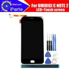 5.5 pouces UMIDIGI C NOTE 2 écran LCD + écran tactile numériseur assemblée 100% Original nouveau LCD + tactile numériseur pour C NOTE 2 + outils