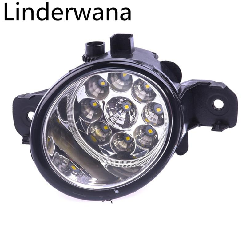 Pour Infiniti M35 M45 JX35 QX60 G37 2008-2015 Car styling Brouillard Lumière Haute Luminosité LED Feux de Brouillard DRL lampes 2 pcs