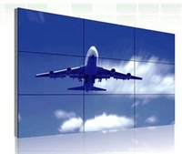 3x3 lcd video wall processors 55 inch Lcd Video Wall CCTV Monitor display