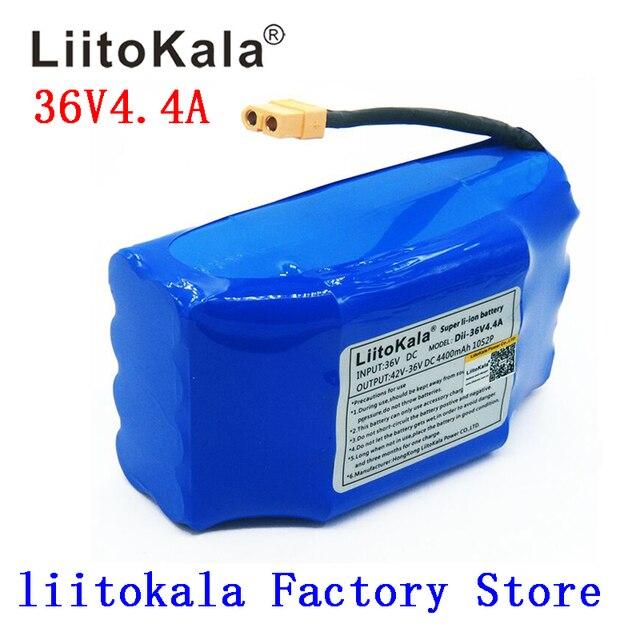 Аккумуляторная литий ионная батарея 36 В, 4400 мАч, Ач, литий ионная ячейка для электрического самобалансирующегося скутера, гироскутера, одноколесного велосипеда