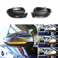 Dynamic Sequential LED Smoked Left Right Mirror Turn Signal Lamp For VW Jetta MK6 11 18 Passat B7 11 15 CC Scirocco Eos Beetle