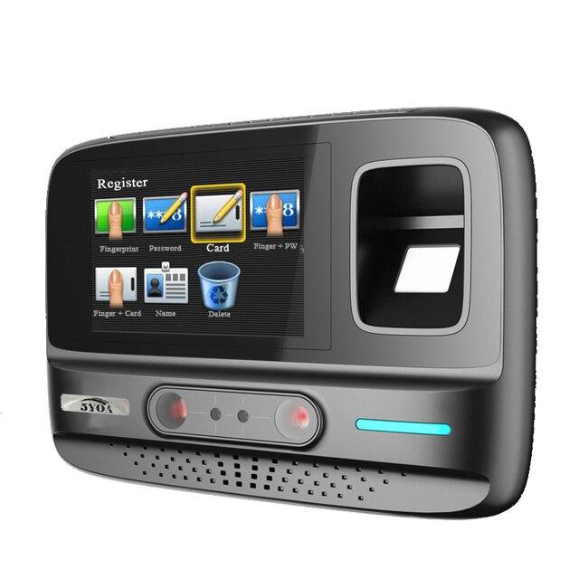 Système de gestion sans fil WIFI AF4   5YOA AF4 fréquentation de temps, reconnaissance faciale par empreinte digitale et mot de passe, dispositif biométrique
