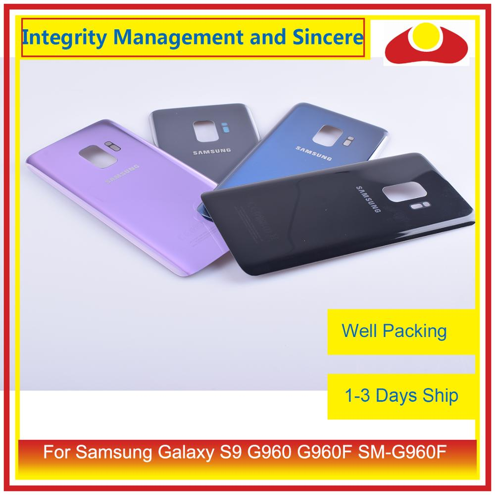 Image 2 - Original For Samsung Galaxy S9 G960 G960F SM G960F Housing Battery Door Rear Back Glass Cover Case Chassis Shell-in Mobile Phone Housings & Frames from Cellphones & Telecommunications