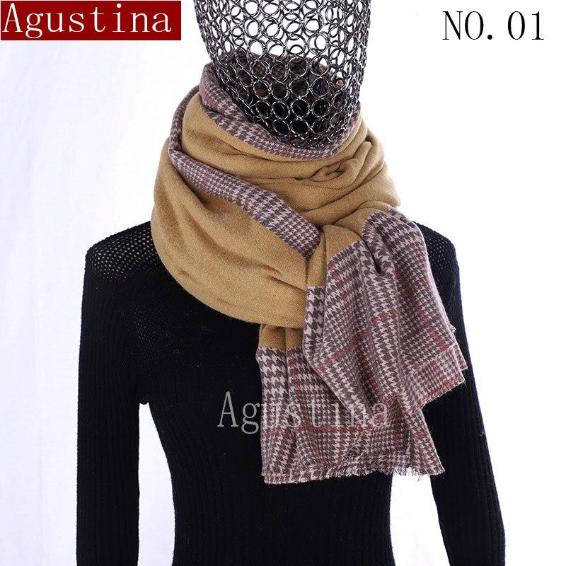 100% QualitäT Schal Pashmina Kaschmir Hijab Sjaal Winter Schal Schals Frauen Seide Luxus Marke Rosa Cachecol Bufanda Mujer Echarpelarge Lange