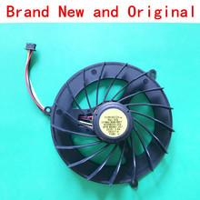 New Cooler radiator Notebook for HP ELITEBOOK 8740W 8675W 8760W 8770W 596047-001 laptop CPU cooling fan forcecon DFS601605MB0T(China)