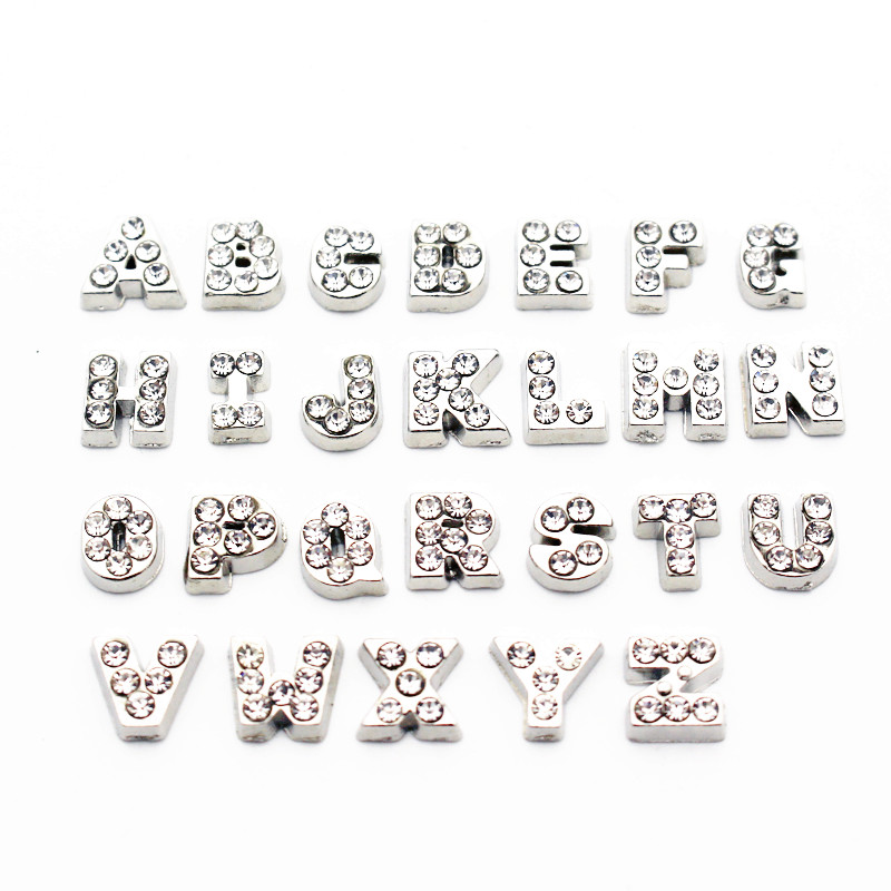 Collection Here English Alphabet Letters T-z 10pcs Floating Memory Charms Letters Hot Sale Charm Fit Living Floating Locket Jewelry Sets & More