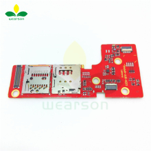 For Lenovo PAD B6000 Sim Board Original Used 3G Type B6000 Sim Card Slot + TF Card Slot Board Free Shipping With Tracking Number