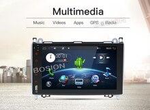 Android 7.11 автомобильный DVD для Mercedes Benz Sprinter Vito W169 W245 W469 W639 B200 GPS Радио dab стерео 4 ядра 2 ГБ Оперативная память с WI-FI