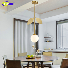 FUMAT Glass Balls Pendant Light Indoor Lightings Art Decor Glass Bubble Sprout Lamp Living Room lampe lamparas lustre цена в Москве и Питере