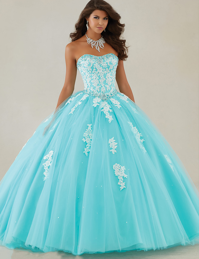 Compare Prices on Light Blue Strapless Quinceanera Dresses- Online ...