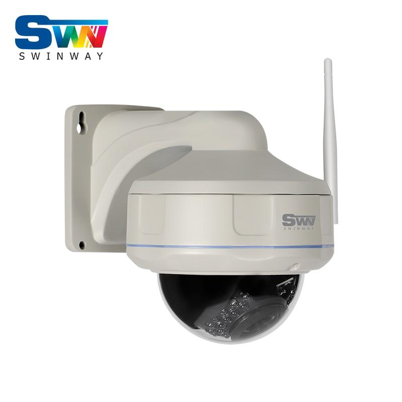 Fixed 1080P 2 0Megapixel HD Vandalproof Dome CCTV Camera Wireless Network H 264 Outdoor 30IR WIFI