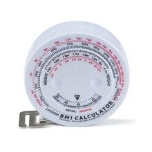 Тело Выдвижная рулетка и калькулятор для диеты потеря веса 1 шт