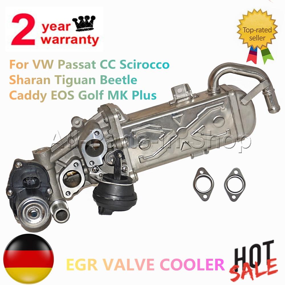 AP01 EGR VALVE COOLER For Volkswagen Passat CC Scirocco Sharan Tiguan Beetle Caddy EOS Golf MK Plus  03L131512BB 03L131512AT