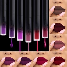 24 color matte lipstick liquid lip gloss glaze waterproof moisturizing balm lasting rich mirror set