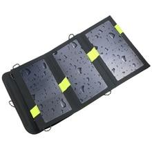 High Quality 20W Dual USB Output 5V Solar Power Bank