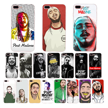 Post Malone soft tpu cases for iphone xr x xs max cover 7 6s 8 6 plus 5s 5 se Pop singer Austin Richard design phone Funda