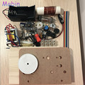 1 PÇS/LOTE kit de rádio Tubo single-tubo da lâmpada única bateria-powered de ondas curtas de rádio CW/SSB receptor com Kit base de Frete grátis