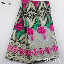 African Lace Fabric Embroidered nigerian Guipure