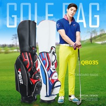 CRESTGOLF Golf Standard Bag High Quality PU Waterproof Bags Large Capacity equipments