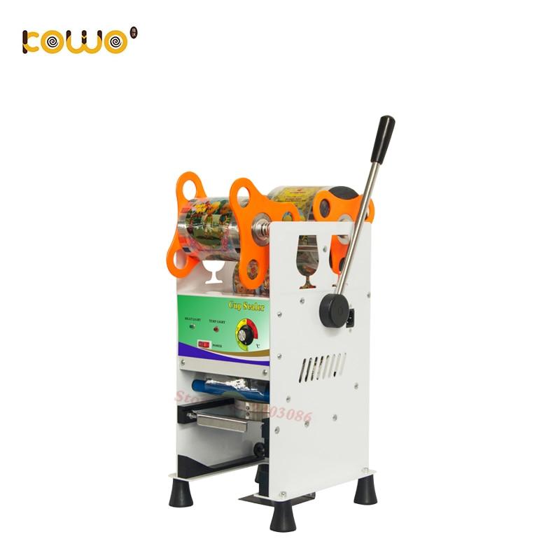 Здесь можно купить  Professional electric plastic cup sealing machine 300-400 cups/hour cup sealer bubble tea sealing machine kitchen appliances  Бытовая техника