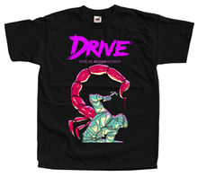 цена на Drive , Movie Poster, Ryan Gosling, T-SHIRT BLACK All Sizes S-5XL   Loose Black Men T Shirts Homme Tees Harajuku Funny Rick