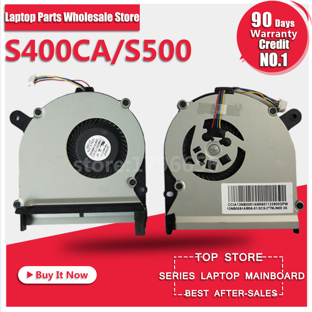 Pour Asus S400 S400C S400CA S400E X402C X402E F402C X502C S300C S500 S500C S500CA CPU Ventilateur De Refroidissement Radiateur Dissipateur de Chaleur refroidisseur