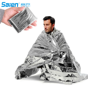 Emergency Space Blanket For Outdoors, Hiking, Survival, Marathons & First Aid - Ideal for any Survival Kit, Bug Out Bag or Emerg