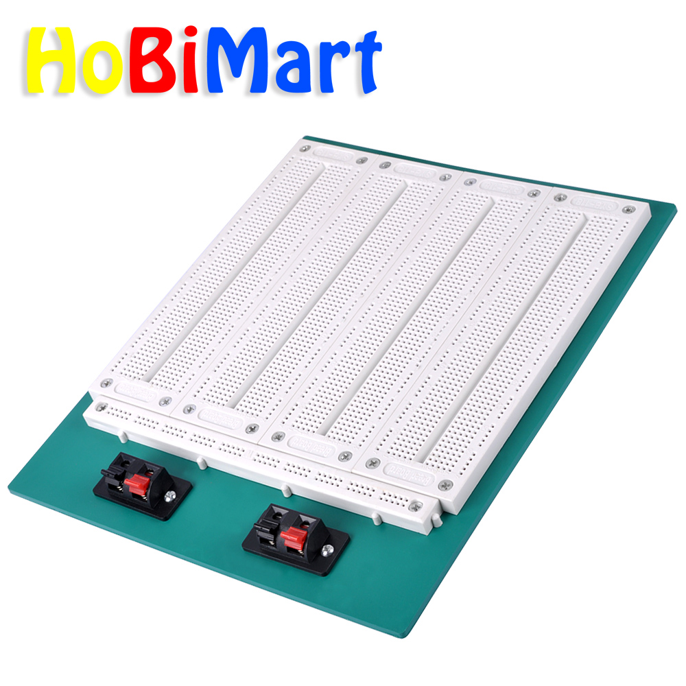 3220 Hole Point Solderless Breadboard Welding Free Circuit Test Board 8x12cm Single Plate Spray Tin Universal 4 In1 700 Position Syb 500 Tiepoint Pcb