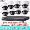 4MP Dahua IP Mini Dome Camera IPC HDBW4421E 8Channel 4K NVR 8POE Surveillance System Set Kit