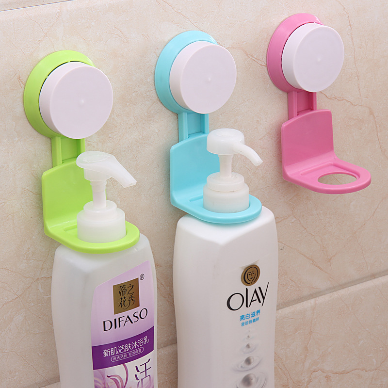 Achetez en gros porte bouteille de shampooing en ligne for Porte gel douche mural