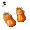 2017 Fashion Genuine Leather Boy/Girl Baby Moccasin Shoe High Quality Baby FirstWalker Outdoors Blue/Pink/Red/Yellow 10.5-13 CM