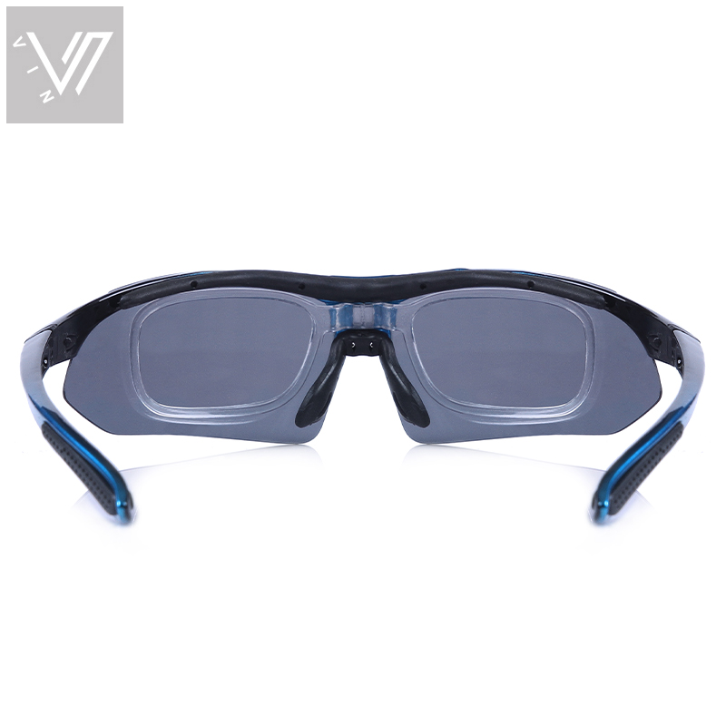 Polarisierte Sonnenbrille 5 Satz Wechselgläser Brillen Gafas Oculos - Bekleidungszubehör - Foto 6