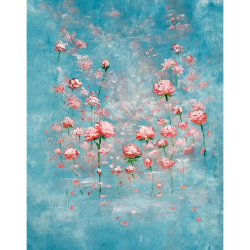 Pure Hand Painting Muslin Backdrop Photographic Background For Photo Studio Customized Photography Backdrops