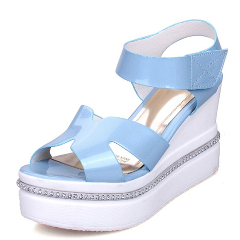 get cheap white wedge sandals aliexpress