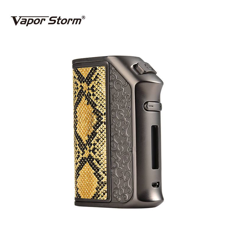 Electronic Cigarette Vapor Storm 200W TC Box Mod Storm200 TC E Cigarette RBA RDA RDTA Huge Vape Can Refill Dual 18650 Battery original rofvape warlock z box 233w mechanical mod dual 18650 battery tc e cigarette box mod