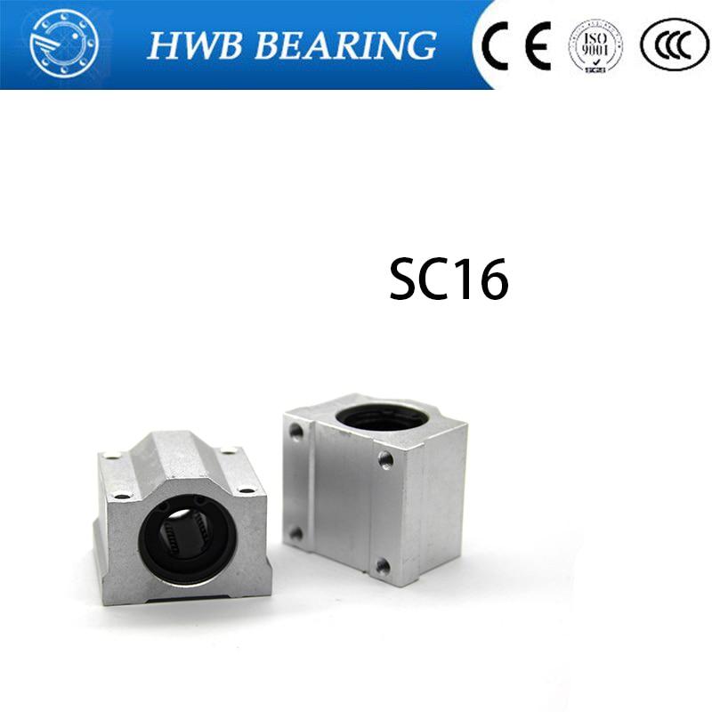 High quality 8pcs/lot SC16UU SCS16UU 16mm Linear Ball Bearing Linear Motion Bearing Slide Free Shipping free shipping 10pcs lot ltm8062 ltm8062ev ltm8062iv ltm8062v linear lga 77 best quality