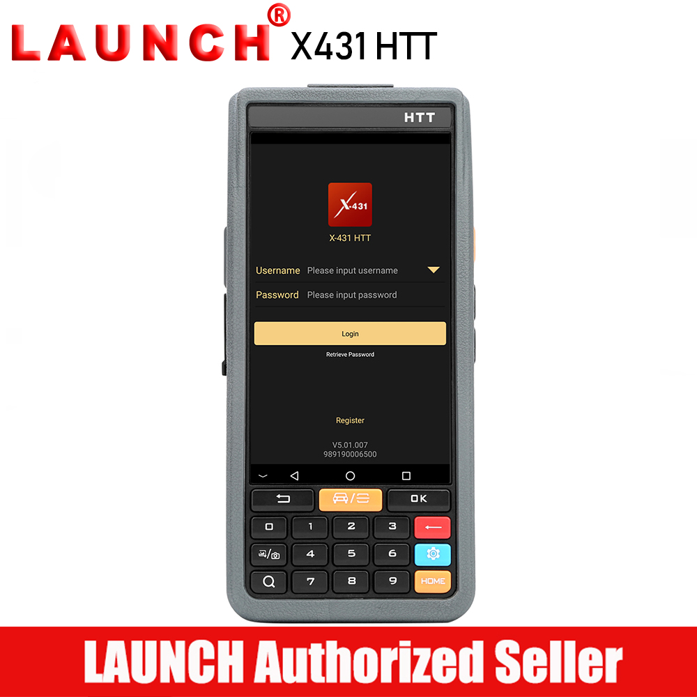 Launch X431 HTT Professional Automotive Diagnostic Tool All System ABS Bleeding Injector Coding DPF Brake Oil Reset SAS TPMS diagnostic tool launch cresetter ii x431 cresetter 2 lamp oil reset tool color lcd launch oil reset tool 100% original