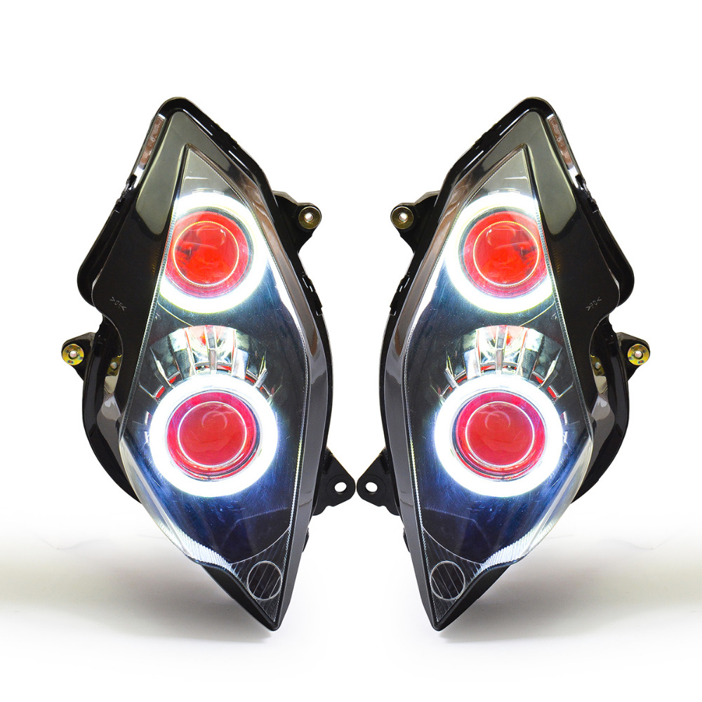 KT LED Headlight For Honda VFR800 2002-2012