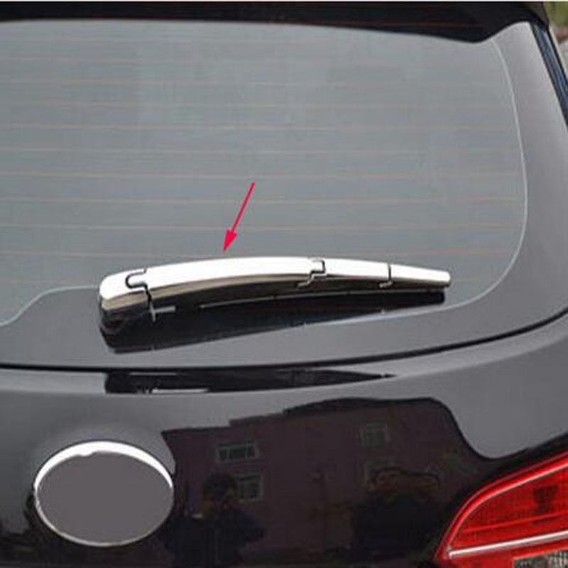for Hyundai Tucson Ix35 2010-2014 for Kia Sportage R Rear <font><b>Back</b></font> Window Wiper Cover Decoration Car Styling <font><b>Stickers</b></font> Accessories