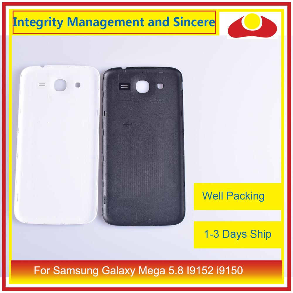 Image 4 - For Samsung Galaxy Mega 5.8 I9152 i9150 GT i9150 Housing Battery Door Rear Back Cover Case Chassis Shell Replacement-in Mobile Phone Housings & Frames from Cellphones & Telecommunications