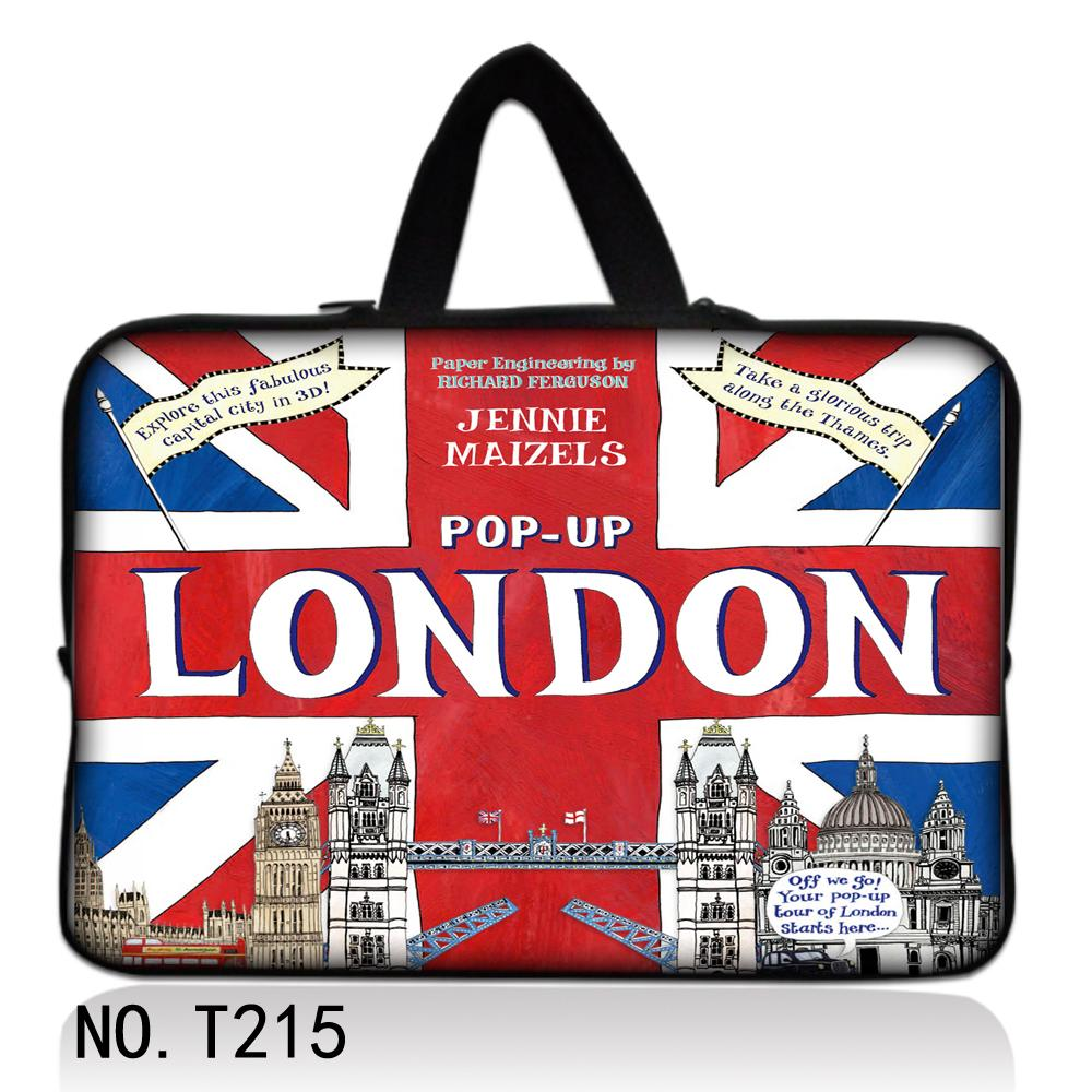 UK Flag London 15 15.4 15.6 Laptop Sleeve Cover Computer Case Bag Pouch For Dell Sony