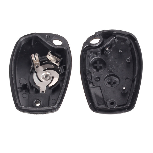 KEYYOU For Renault Megane Modus Espace Laguna Duster Logan DACIA Sandero Fluence Clio Kangoo 2 Button Remote Key Shell Case