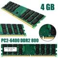 1 шт. профессиональная 4 Гб PC2-6400 DDR2 800 МГц без ECC 240Pin оперативная память для AMD настольных RAMs Новинка