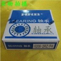 6206 2RZ P4 HRB 30x62x16 Deep Groove Radial Ball Bearings