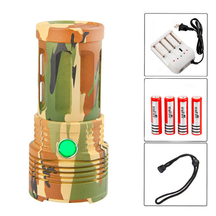 Skyray 20000 Lumens 90w Led Flashlight 5 modes 9x CREE XM-L T6 LED Bike hunting Torch With 4 x 18650 battery and charger 20000 lumens skyray king 10 x cree xm l t6 led flashlight torch lamp light for hunting camping 4 pcs 18650 battery charger