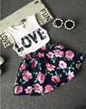 2017 new style Girls Clothing Sets New Summer Fashion Style Cartoon Letter Printed vest + Dress 2Pcs Girls Clothes Sets