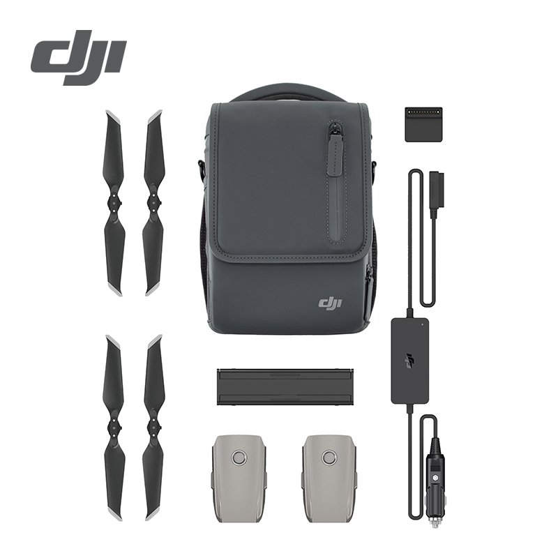 DJI Mavic 2 Pro Zoom Fly More Kit Inclduing Mavic 2 Pro Battery Shoulder Bag Propeller Car Charger Battery to Power Bank Adapter dji mavic pro fly more combo