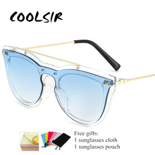 COOLSIR Sunglasses Women Clear Glasses Frame Luxury Brand Designer Vintage 2019 Fashion Eyewear UV400 NX