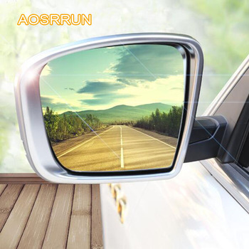 ABS electroplating outside rearview mirror frame The mirror decoration cover Car accessories cover FOR Maserati Levante