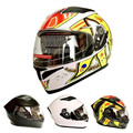 (1pc&4colors) DOT Approval Double Lens Motorcycle Full Face Helmets Flip-Up Modular Helmet Casco Capacetes Cyclegear FF316